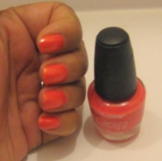 L.A.Colors (Color Glaze) with hardeners Nail Polish: No.12