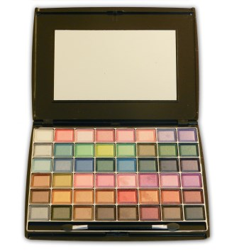 Saffron 48 Colour Creme Eye Shadow Palette