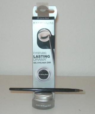 Maybelline Eyestudio Lasting Drama Gel Eyeliner in Blackest Black