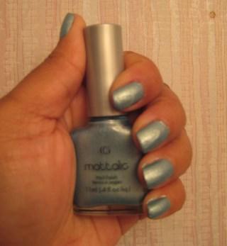 CoverGirl Nail Polish: Blue Steel (No.46)