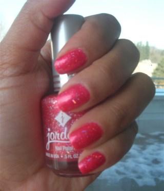 Jordana Nail Polish: Coral Spark (No.975)