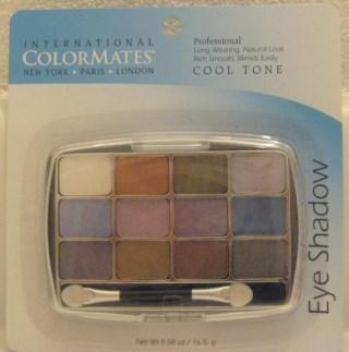 International Colormates Eye Shadow Palette: Cool Tone