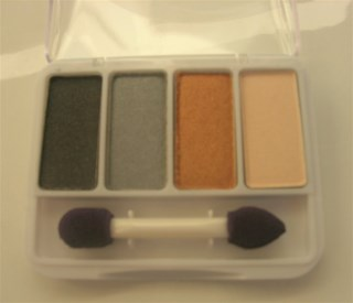 CoverGirl Exact Eyelights Eyeshadow Palette: Vibrant Browns (No.700)