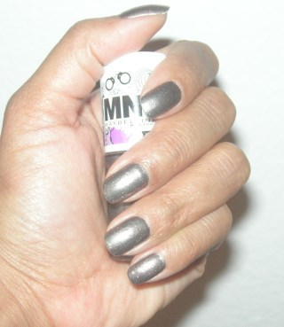 Grey Metallic Shimmer