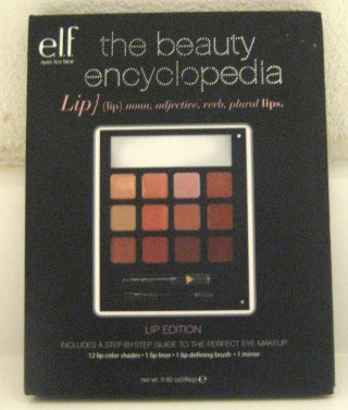 Elf The Beauty Encyclopedia Lip Edition