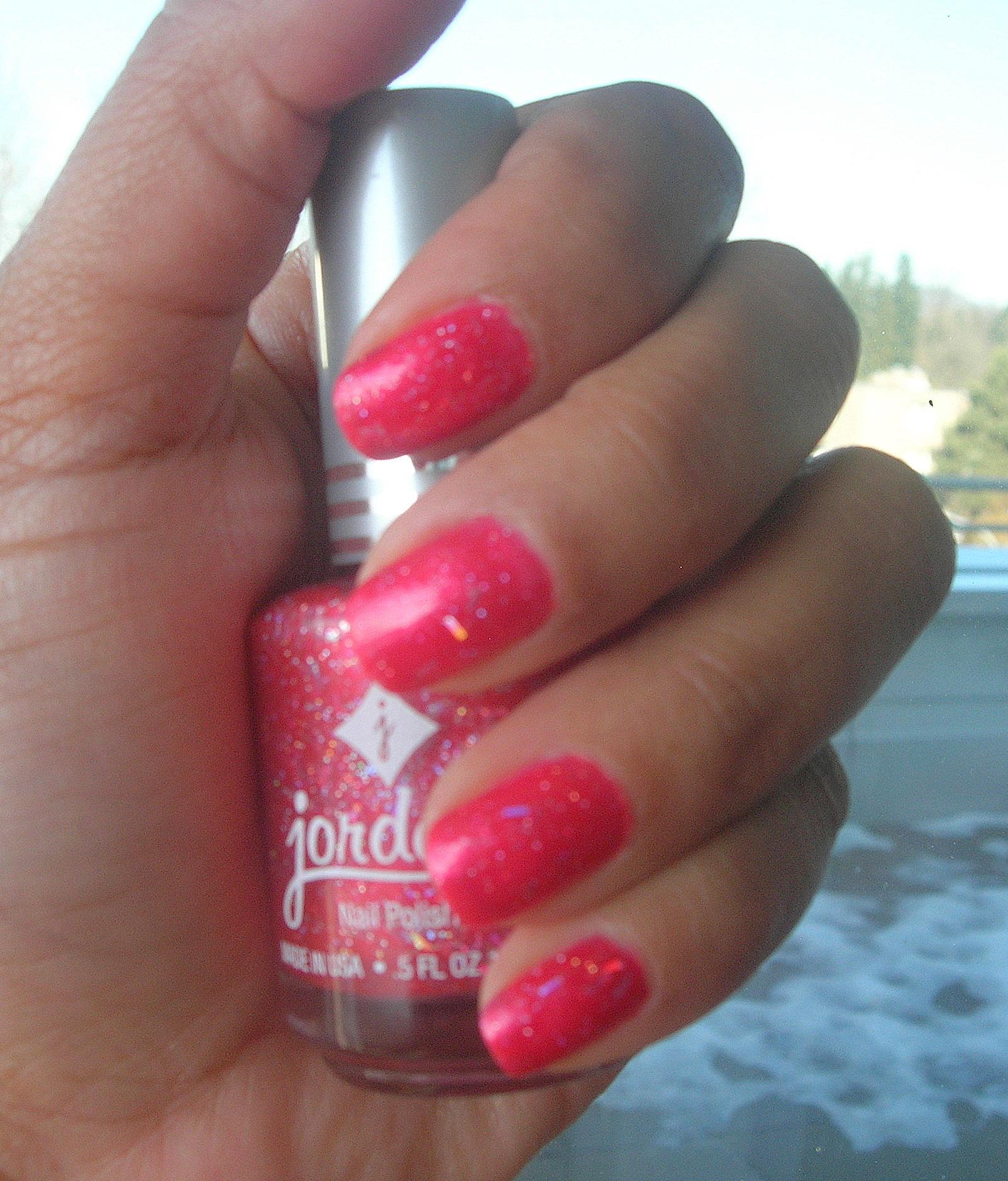 Amuse Lip Gloss and Blush and Jordana Nail Polish (Coral Spark No ...